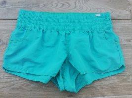 The skinny Short de sport bleu clair-turquoise