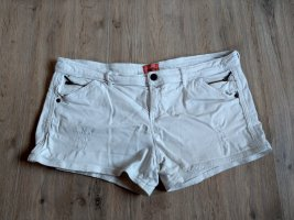 Bershka Hot Pants white