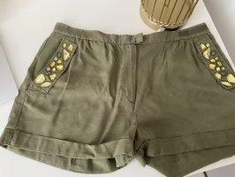 Shorts Kurze Hose H&M top zustand 2xgetragen Steine khaki Hippie Boho Hingucker