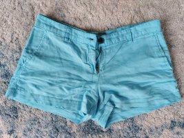Shorts Leinen blau