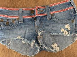 Shorts mit Stickereien / True Religion
