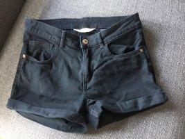 Shorts schwarz von H&M Größe 158