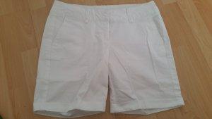 Shorts Stiefelhose Hose weiß Gr 38