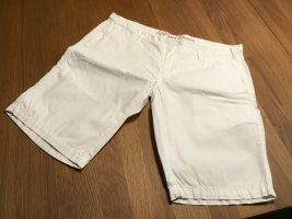 Tommy Hilfiger Pantaloncino a vita alta bianco Cotone