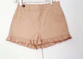 Shorts von Ganni gr. L beige
