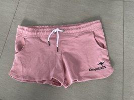 Kangaroos Pantaloncino sport color oro rosa