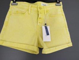 Marc O'Polo Pantaloncino di jeans giallo-giallo neon