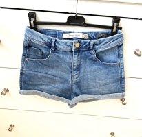 Zara Short en jean multicolore