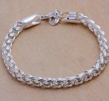 Silber 925 Armband Königskette Sterling