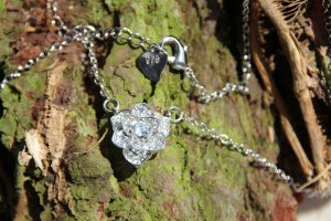 925 Necklace silver-colored