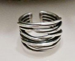 Silber  925 offener Ring neu größenverstellbar