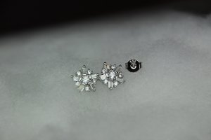 925 Ear stud silver-colored