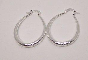 Boucles d'oreilles en argent blanc