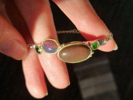 Silber Armband, Opal