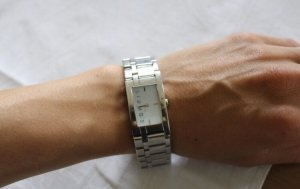 Silber Esprit Uhr