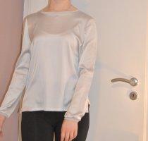 Opus Połyskująca bluzka srebrny