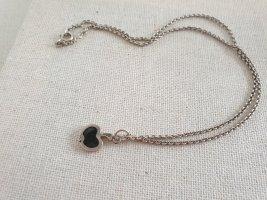 Silver Chain silver-colored-black