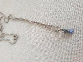 Silver Chain silver-colored-cornflower blue
