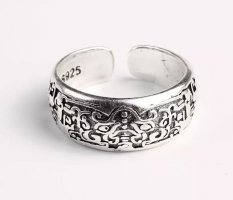 Silber  offener Ring  neu 925