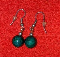 Silber Ohrringe mit Eilatstein