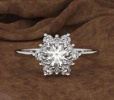 Silber Ring , gr.8