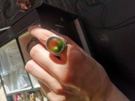 Silber Ring, groß ametrin