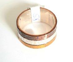 Silber Ring - Kupfer Messing Silber - Gr. 58 - NEU -