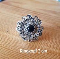 silber Ring mit Onyx