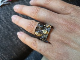 Silber Ring, Opale