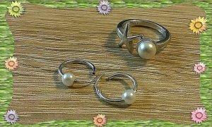 Silber Ring von Esprit & passenden silber Ohrringe