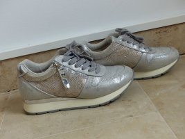 Bullboxer Lace-Up Sneaker silver-colored textile fiber