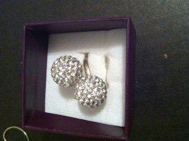 Silber Strass Ring, 925