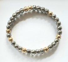 Silber und Gold Armband von BJØRG