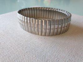 Silber Unisex Flexarmband Men Massiv Armband Matt