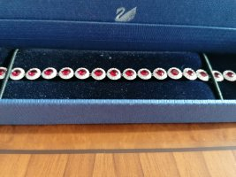 Swarovski Zilveren armband veelkleurig