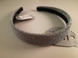 Six Hair Circlet silver-colored-black