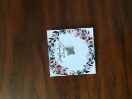Silberkette Blume Etsy