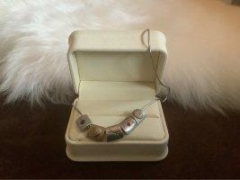 Juwelier Colliers ras du cou argenté