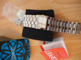 Esprit Watch With Metal Strap silver-colored