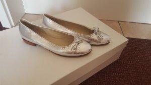 Claudia Obert Ballerinas silver-colored-brown