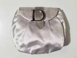Dior Makeup Bag silver-colored-light grey