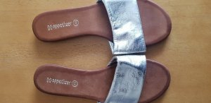 appetizer Comfort Sandals silver-colored