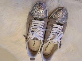 silberne Sneakers Gr.38 von Tamaris