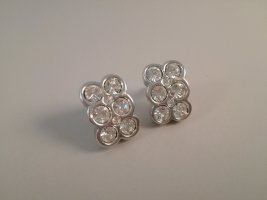Vintage Ear stud silver-colored