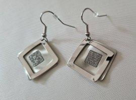 Scarlet Bijoux Silver Earrings silver-colored