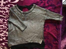 Silbernen Pullover