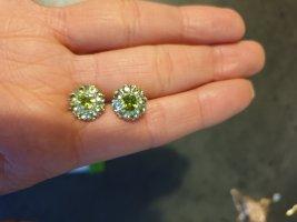 no name Boucles d'oreilles en argent multicolore