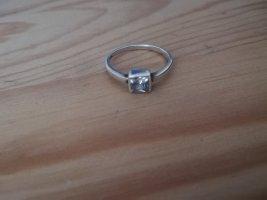 Srebrny pierścionek srebrny Metal