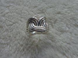 Anillo de plata color plata plata verdadero