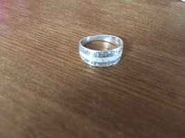 Silver Ring silver-colored-white